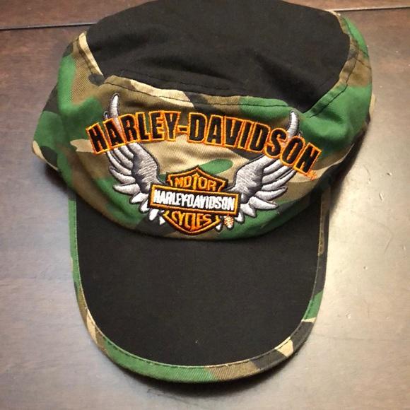 Harley-Davidson Other - Harley-Davidson kids hat.  Size 4-7